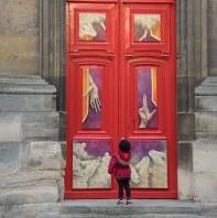Le petit pèlerin de la miséricorde, cathédrale de Versailles